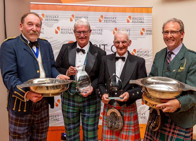 Charles MacLean, Michael Urquhart, Dennis McBain and Ian Millar