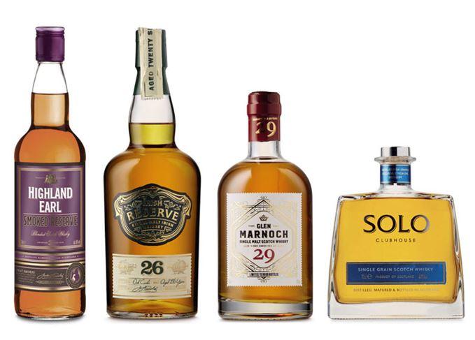 Aldi whisky Glen Marnoch 29 Solo Clubhouse