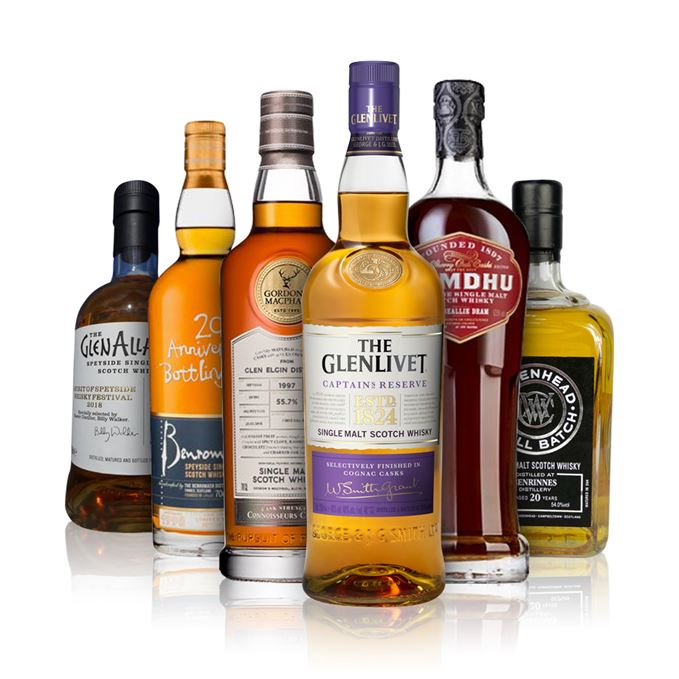 Batch 147: Benrinnes, Benromach, Glen Elgin, GlenAllachie, The Glenlivet and Tamdhu