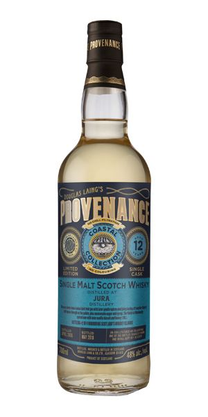 Jura 12 Years Old, Provenance Coastal Collection (Douglas Laing)