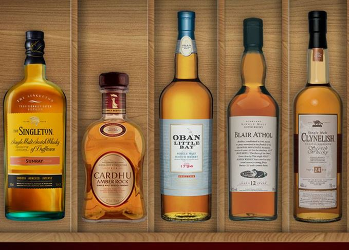 Diageo Masters of Whisky
