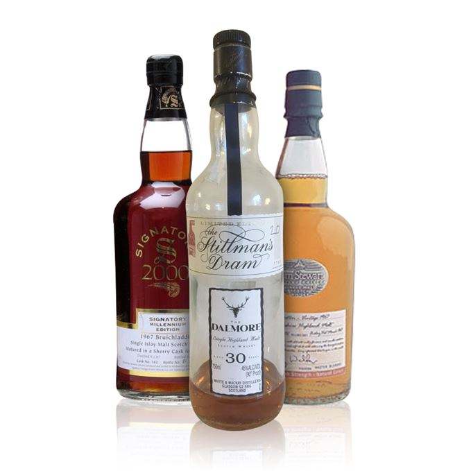 Rare batch 34: Bruichladdich, Dalmore and Deanston