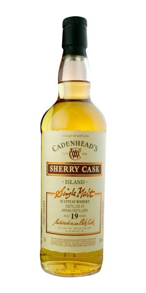 Arran 19 Years Old, Fino Cask (Cadenhead)