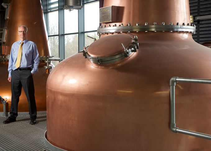 InchDairnie distillery and managing director Ian Palmer
