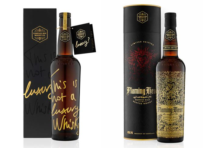 Compass Box whiskies