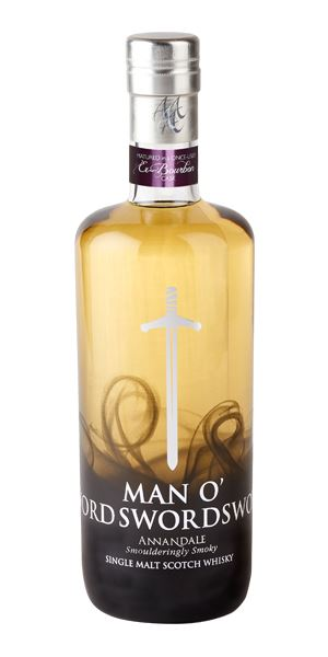 Annandale Man O' Sword, 3 Years Old, Bourbon cask #470