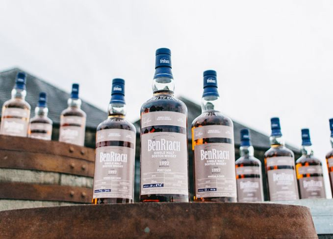 BenRiach single cask releases batch 15 2018