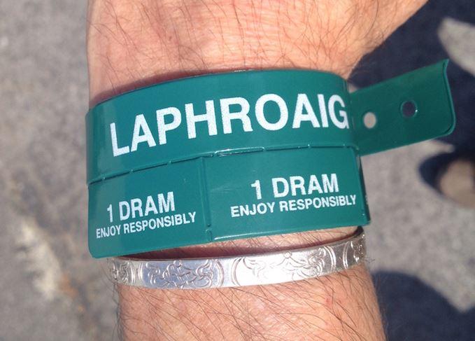 Laphroaig wristband