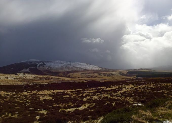 Snow in the Upper Cabrach