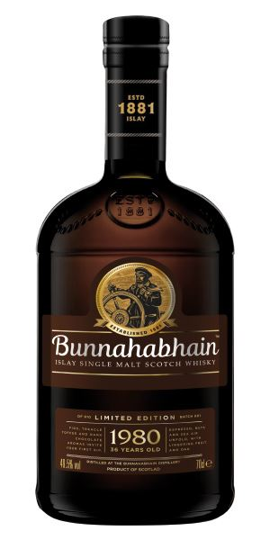Bunnahabhain 1980 Canasta Finish, 36 Years Old