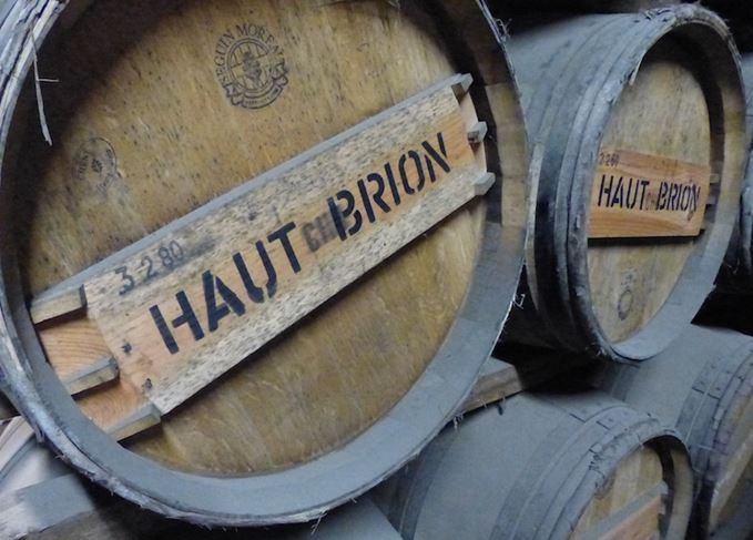 Haut-Brion casks at Bruichladdich