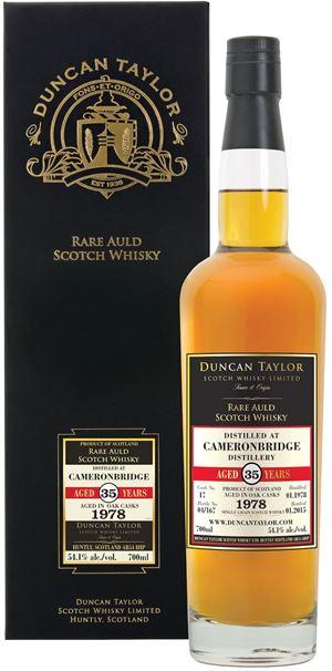 Cameronbridge 1978 (35yo; Duncan Taylor)