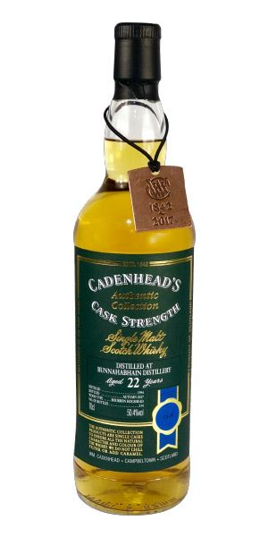 Bunnahabhain 22 Years Old (Cadenhead)