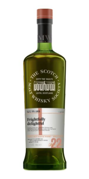 35.185: Frightfully Delightful (Glen Moray 22 Years Old, SMWS)