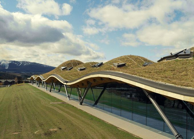 Macallan distillery in Speyside visitor attraction
