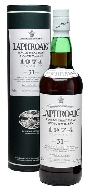 Laphroaig 31 Years Old (distilled 1974)
