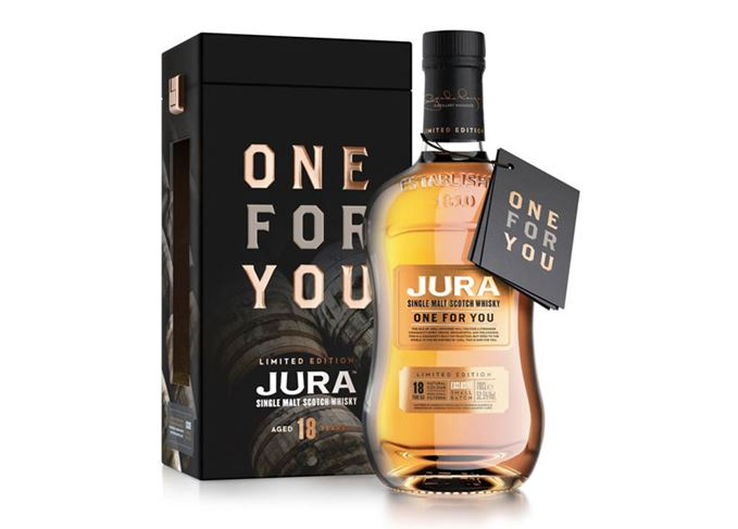 Jura One For You bottle and carton