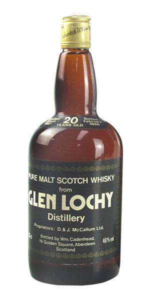 Glenlochy 20 Years Old, Bottled 1988 (Cadenhead)