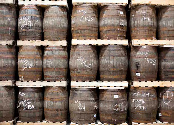 Scotch whisky casks