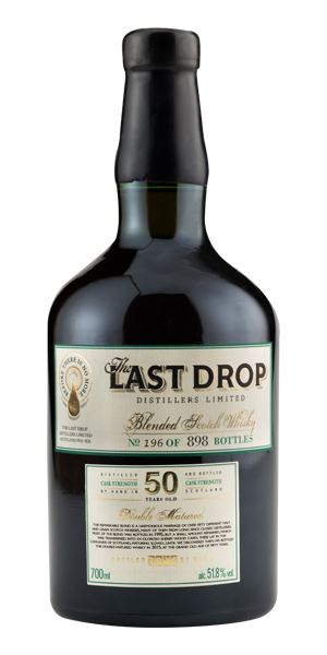 The Last Drop Double Matured Blended Scotch, 50 Years Old
