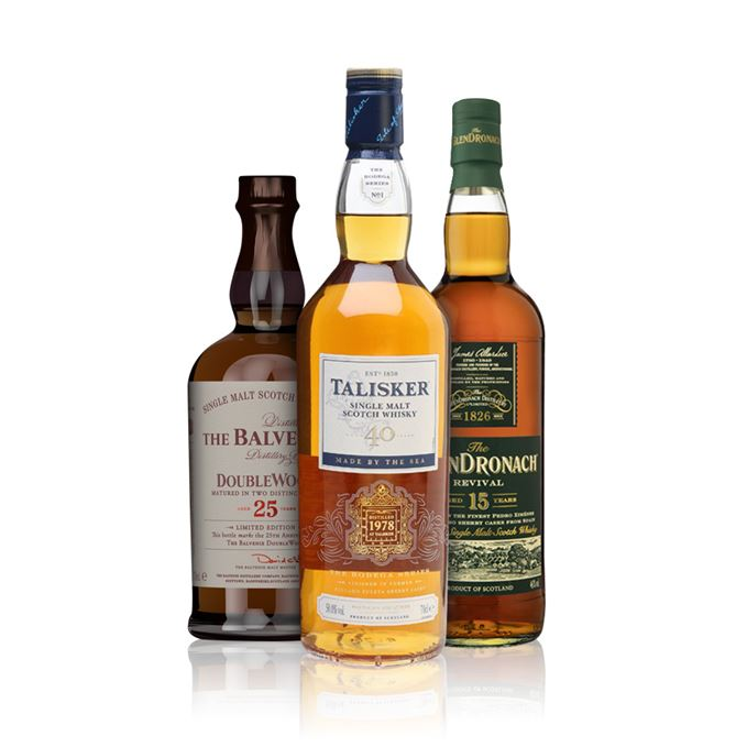 Becky Paskin's whiskies of the year 2018: Balvenie Doublewood 25, Glendronach revival 15, Talisker 40