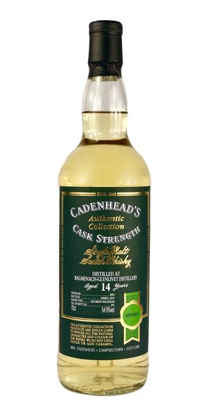 Balmenach 14 Years Old, 2004 (Cadenhead)