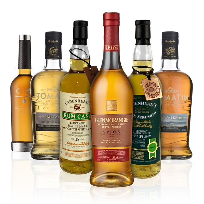 Batch 133: Glenmorangie Spios, Tomatin Metal and Water, Tullibardine 1962, Auchroisk and Auchentoshan from Cadenhead