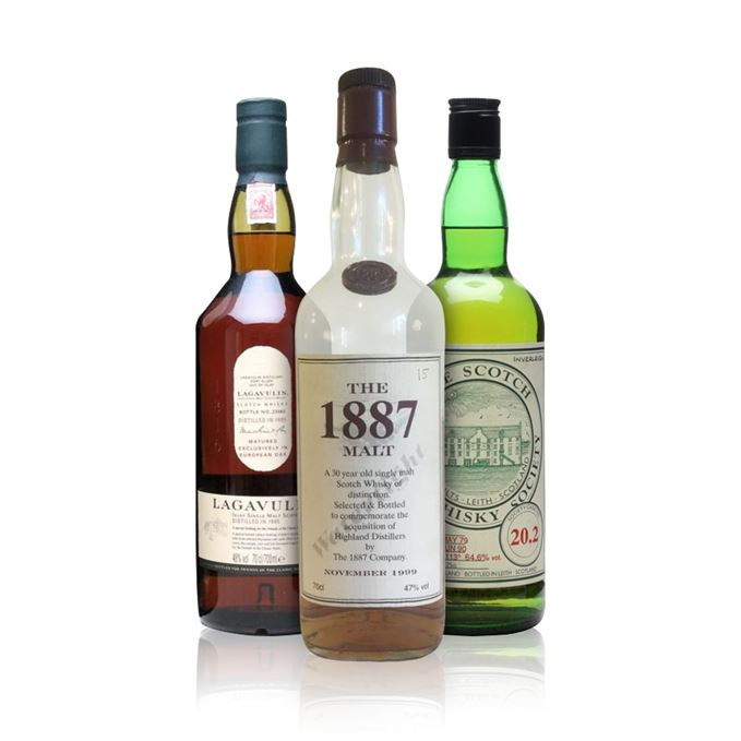 Rare Batch 40: The 1887 Malt, Inverleven, Lagavulin