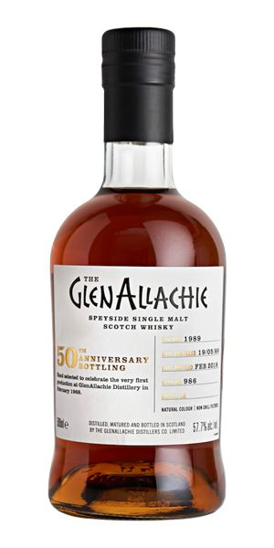 GlenAllachie 1989, 28 Years Old, Cask #986