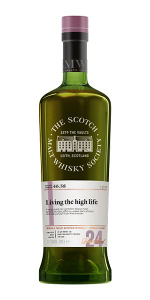 Glenlossie 24 Years Old, 'Living the High Life' 46.58 (SMWS)