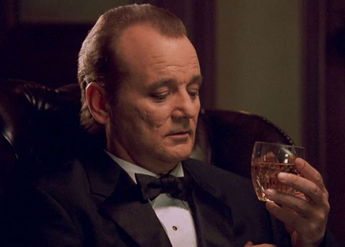 Bill Murray as Bob Harris in Lost in Translation