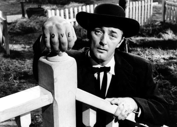 Robert Mitchum The Night of the Hunter