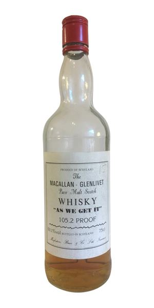Macallan-Glenlivet 'As We Get It', bottled early 1980s