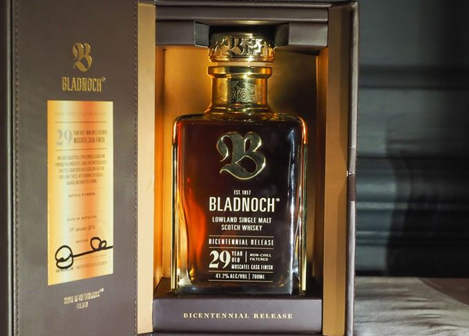 Bottle of Bladnoch Bicentennial Release