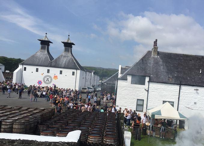 Ardbeg distillery Feis Ile 2018
