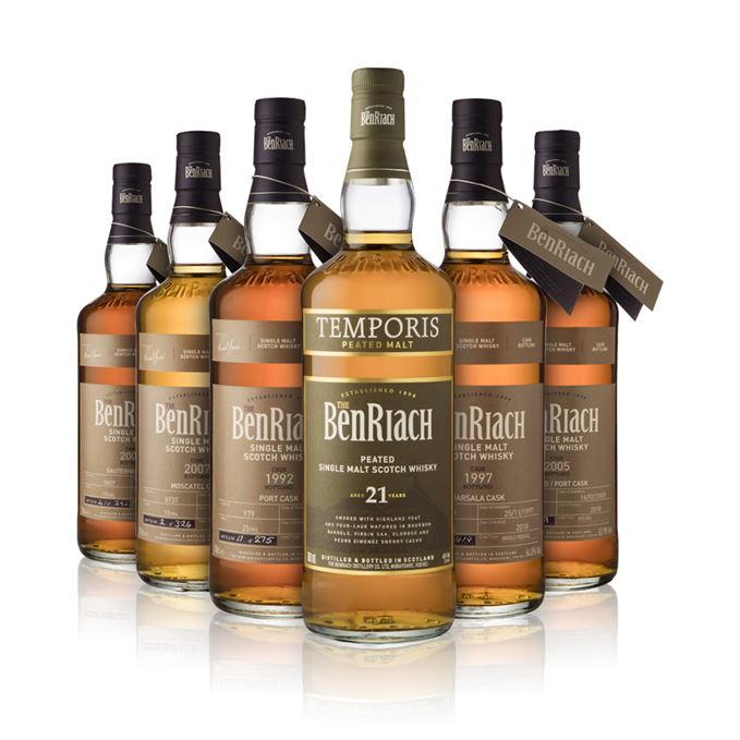 Batch 156: BenRiach 2018 single casks and BenRiach Temporis 21 year old