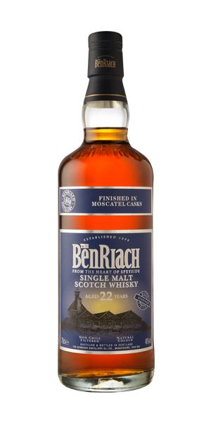 BenRiach 22 Years Old Moscatel Finish