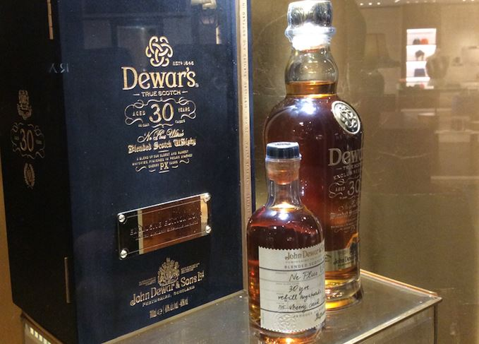 Dewar's 30-year-old at Singapore Changi Airport