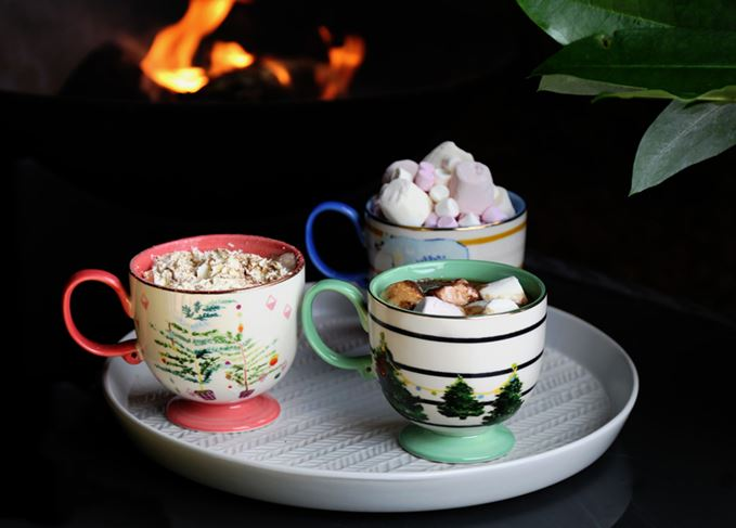 Whisky hot chocolate Christmas cocktails