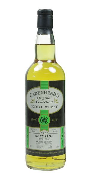 Ardmore 1977, 24 Years Old, bottled 2002 (Cadenhead)