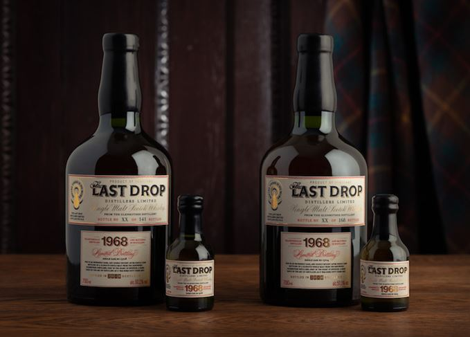 Glenrothes 1968 Last Drop Distillers bottles