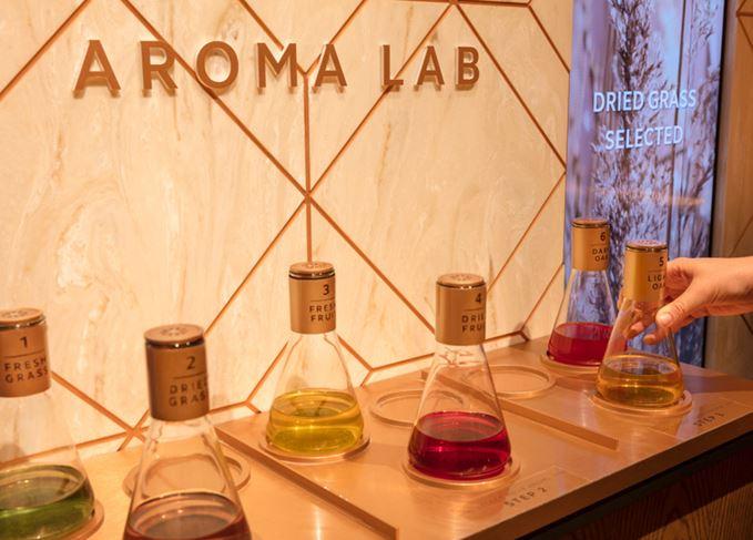 Glenfiddich Aroma Lab