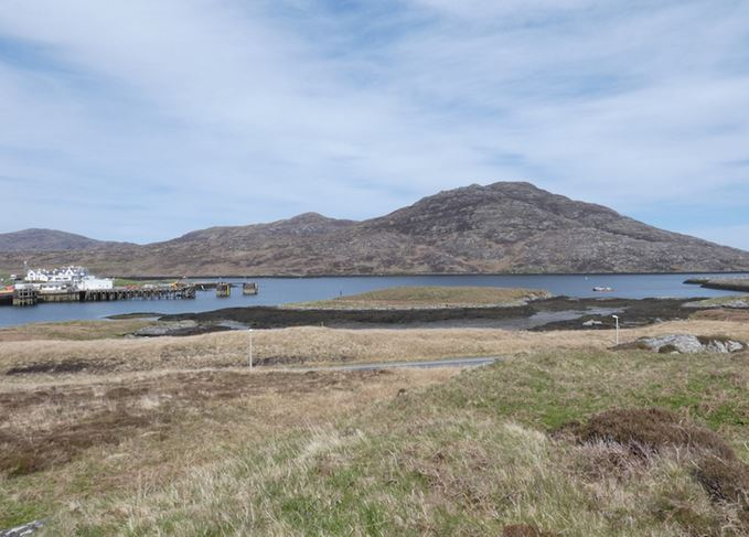 Lochboisdale new distillery site