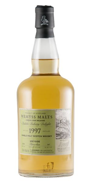 Glenrothes 1997, Italian Bakery Delight (Wemyss Malts)