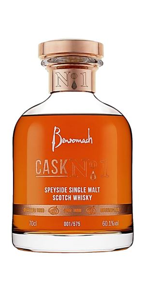 Benromach Cask No. 1, 20 Years Old, 1998