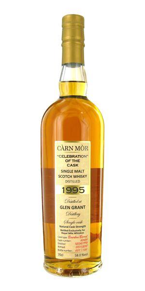 Glen Grant 22 Years Old, 1995, Carn Mor (Morrison & MacKay)