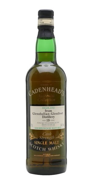 Glendullan 19 Years Old, 1978, Sherrywood (Cadenhead)