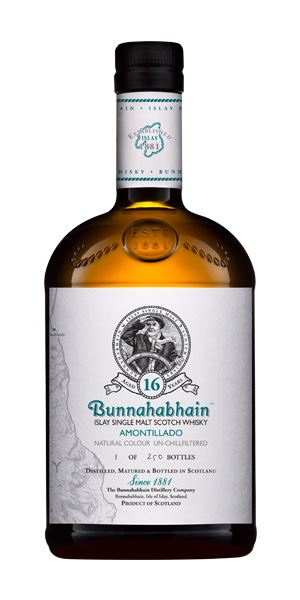 Bunnahabhain 16 Years Old Amontillado