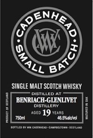 Benriach 19 Year Old Small Batch (Cadenhead)