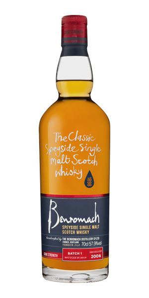 Benromach 10 Years Old, 2008, Cask Strength Batch 1